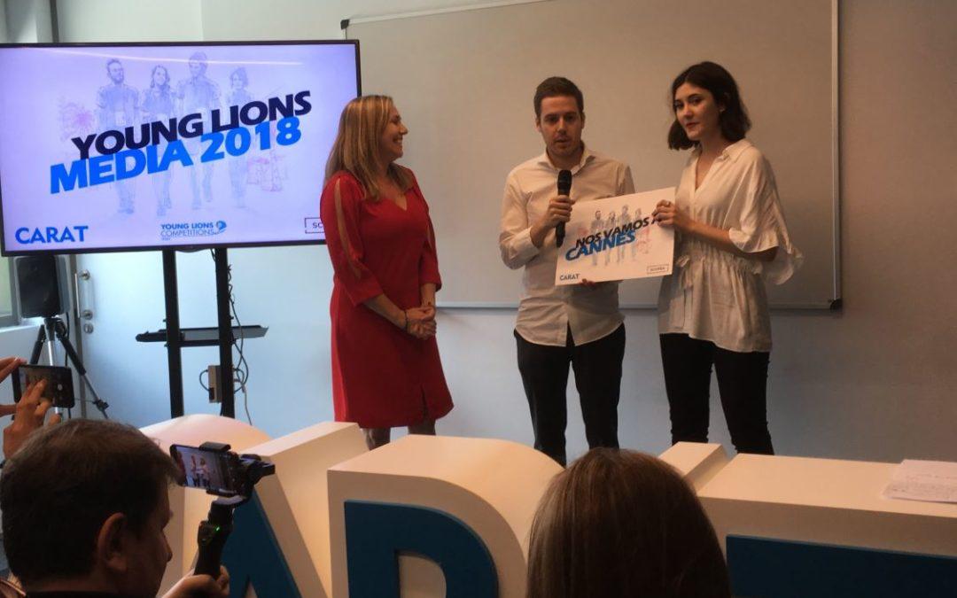 Ganadores de la Competición española Young Lions Media 2018