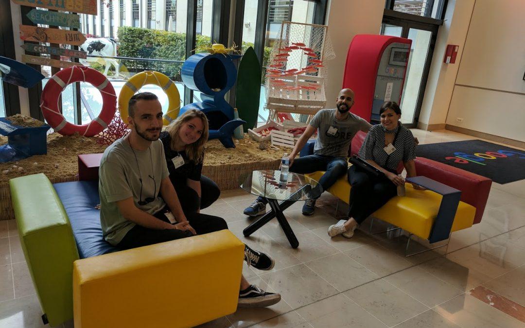 Experiencia de los ganadores de Young Lions Cyber: training en YouTube París
