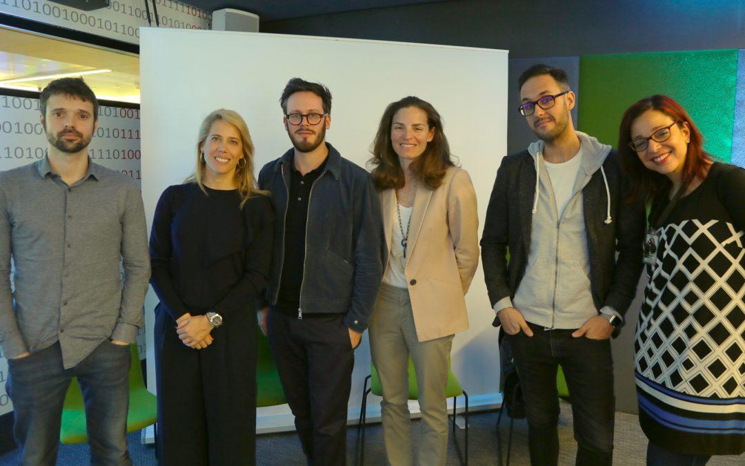 Celebración del Jury Box #1 con Google y las agencias creativas españolas