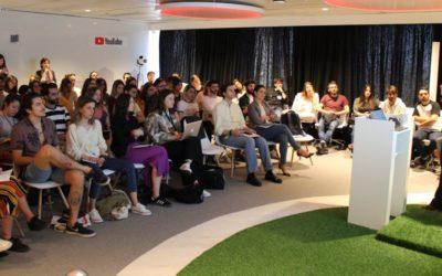 Sesión de briefing de la Competición Española Young Lions Film 2018 con YouTube