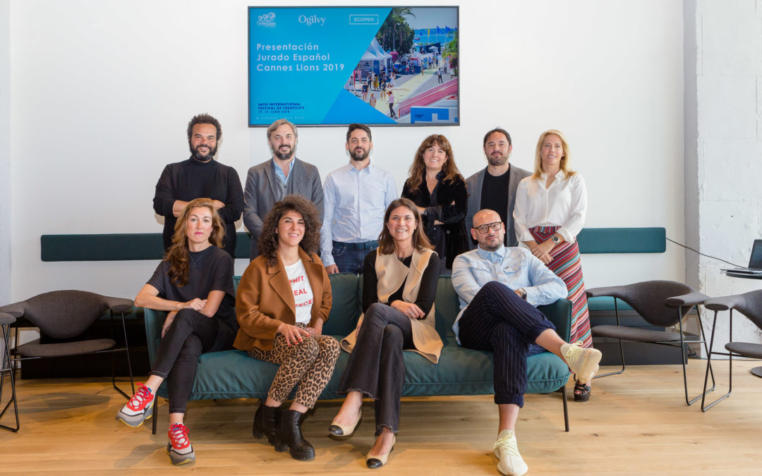 Aquí tenéis al Jurado español de Cannes Lions 2019